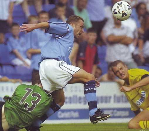 tranmere away friendly 2001 to 02 action