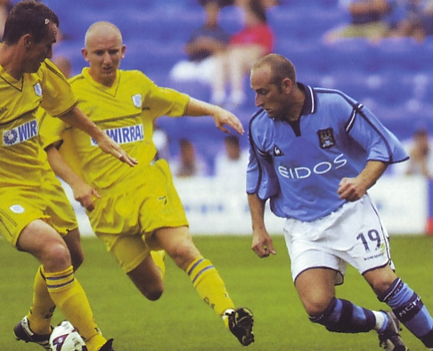 tranmere away friendly 2001 to 02 action4