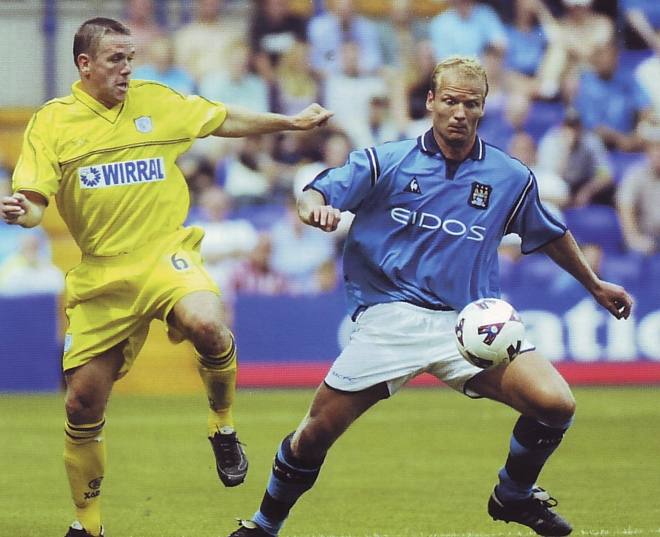 tranmere away friendly 2001 to 02 action5