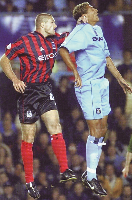 Coventry away 2001 to 02