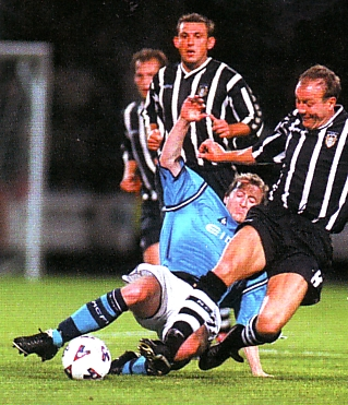 Notts county league cup 2001 to 02 action2