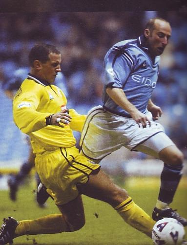 birmingham home league cup 2001 to 02 action
