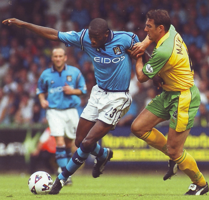 norwich away 2001 to 02 action