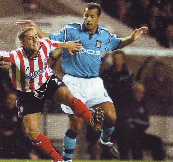 sheff utd home 2001 to 02 action