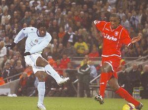 FC Twente home 2008 to 09 benjani goal