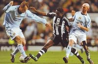 Newcastle away 2008 to 09 action2