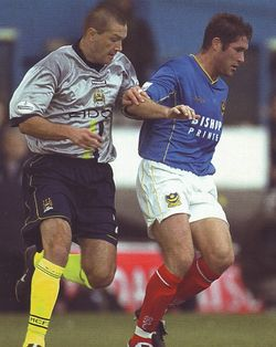 Portsmouth Away 2001 to 02 action2