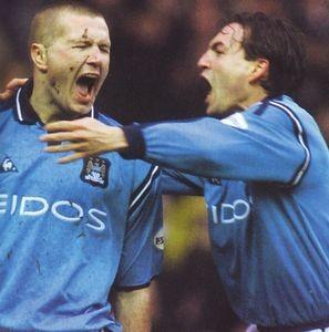 Preston home 2001 to 02 howey goal2
