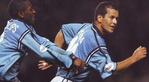 Rotherham home 2001 to 02 bernabia goal winner