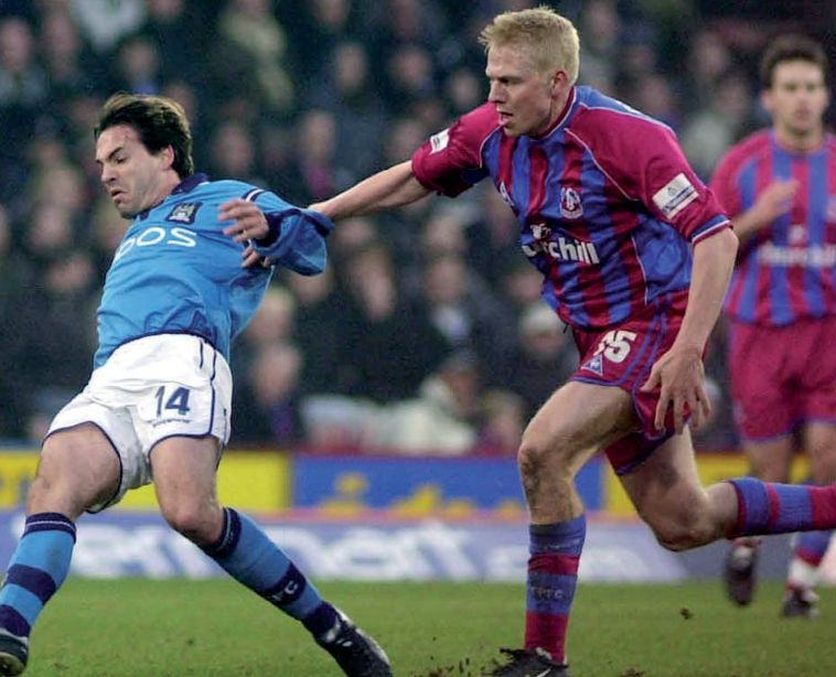 crystal palace away 2001 to 02 action