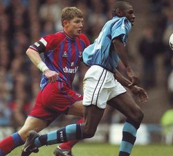 crystal palace home 2001 to 02 action