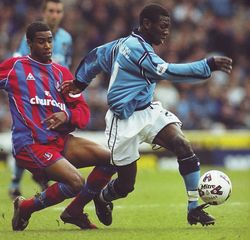 crystal palace home 2001 to 02 action3