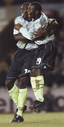 millwall away 2001 to 02 swp goal celeb