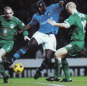 millwall home 2001 to 02 action