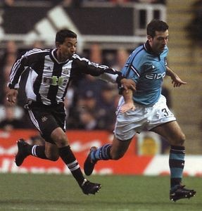 newcastle fa cup 2001 to 02 action