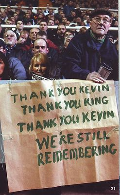 newcastle fa cup 2001 to 02 keegan banner