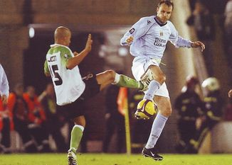 racing santander away 2008 to 09 action