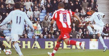 stoke home 2008 to 09 robinho 2nd goal