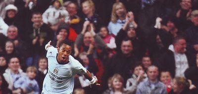 stoke home 2008 to 09 robinho 3rd goal celeb