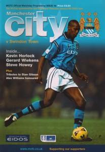 swindon home 2001 to 02 prog