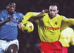 watford away 2001 to 02 action2