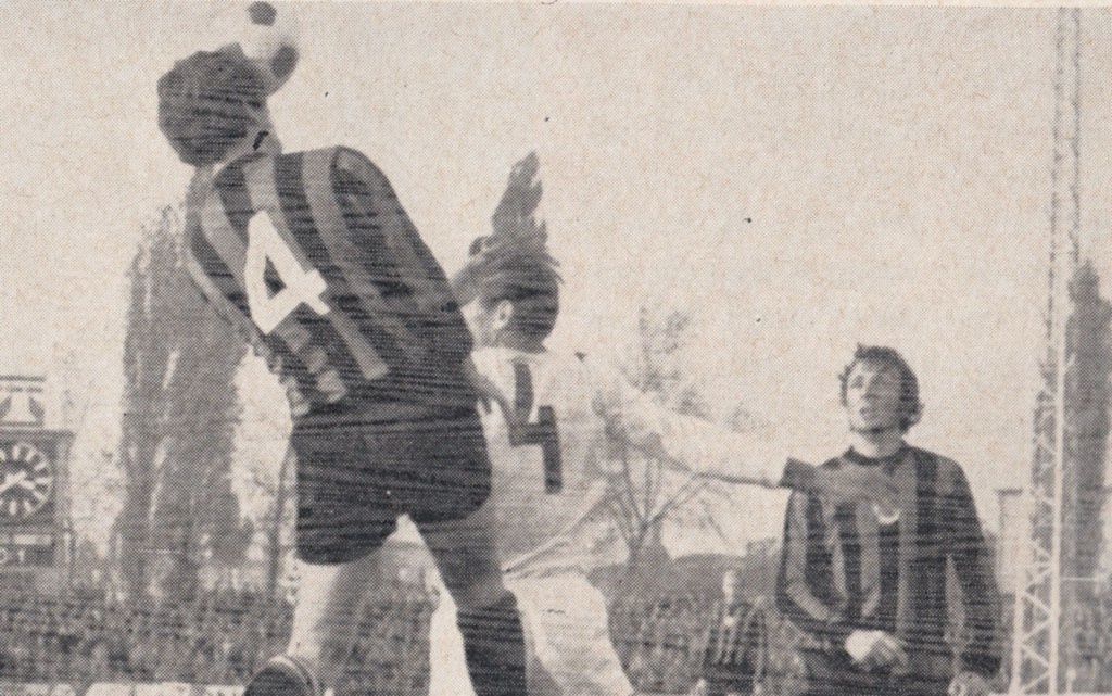 honved away 1970 to 71 action 7