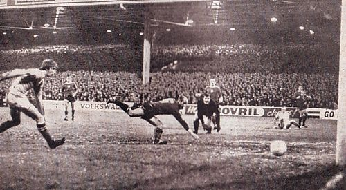 honved home 1970-71 bell 2nd goal