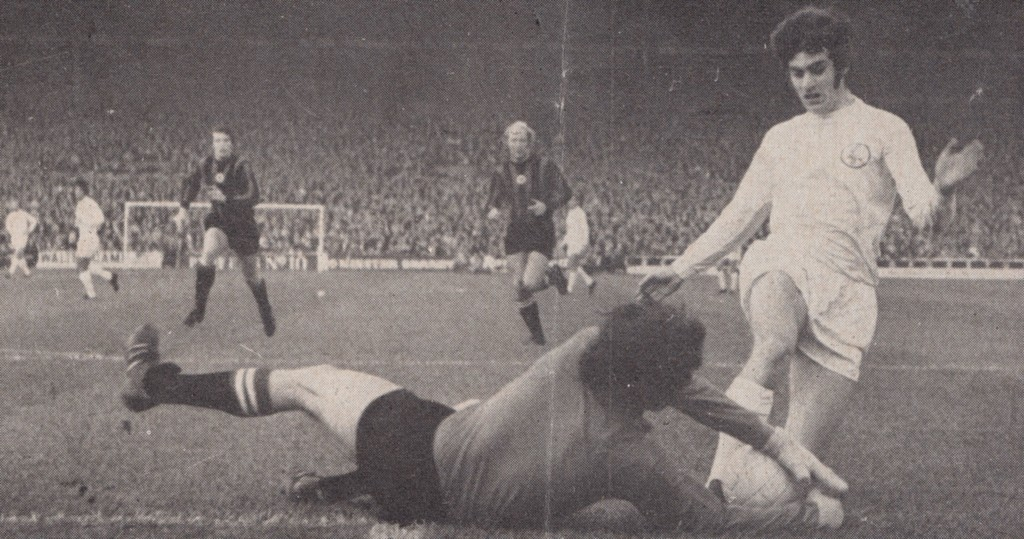 leeds away 1970 to 71 action6