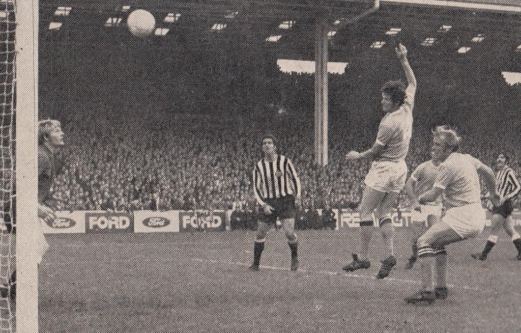 newcastle home 1970 to 71 doyle goal