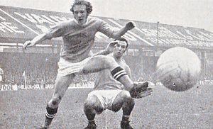 Blackpool away 1970-71 action