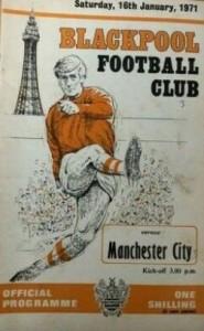 Blackpool away 1970-71 prog