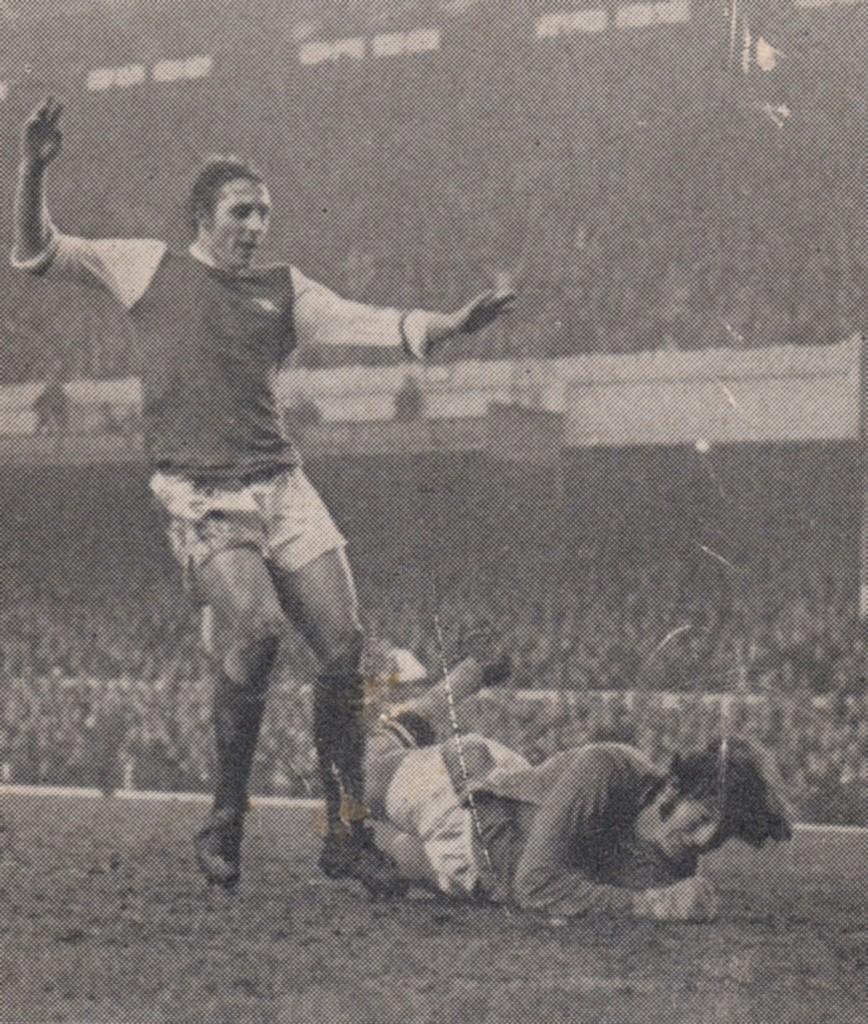 arsenal away 1970 to 71 Radford goal
