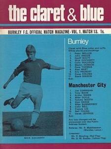 burnley away 1970 to 71 prog