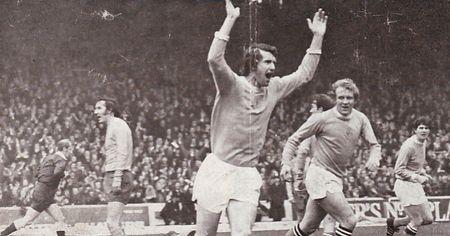 everton home 1970-71 doyle goal