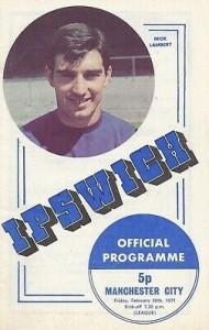 ipswich Away 1970-71 prog
