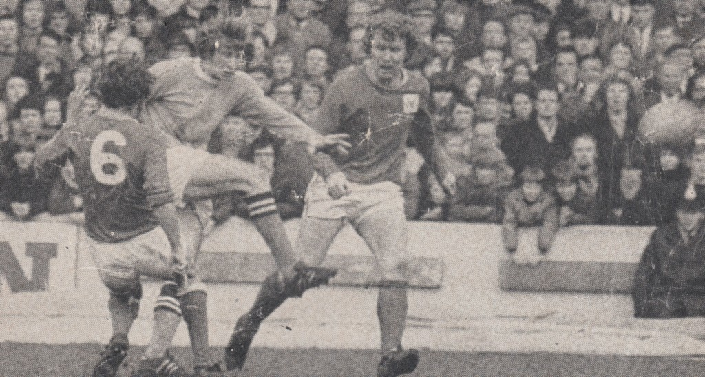 notts forest home 1970 to 71 action 6