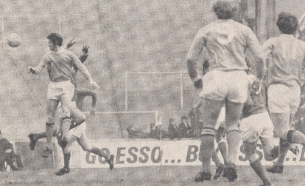 notts forest home 1970 to 71 doyle goal