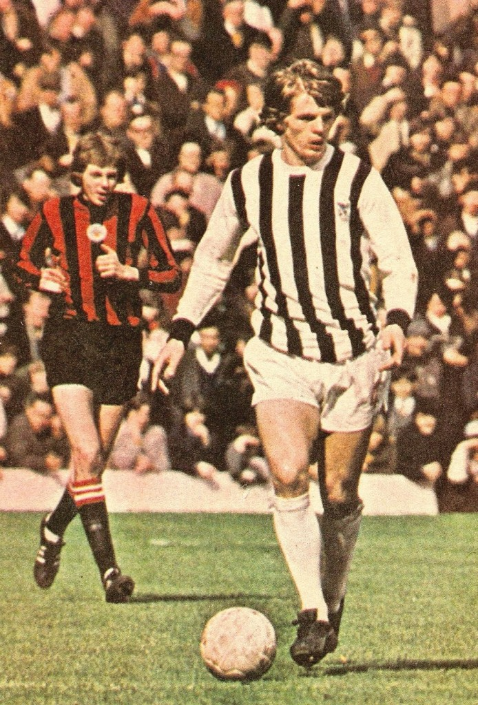 west brom away 1970 to 71 action