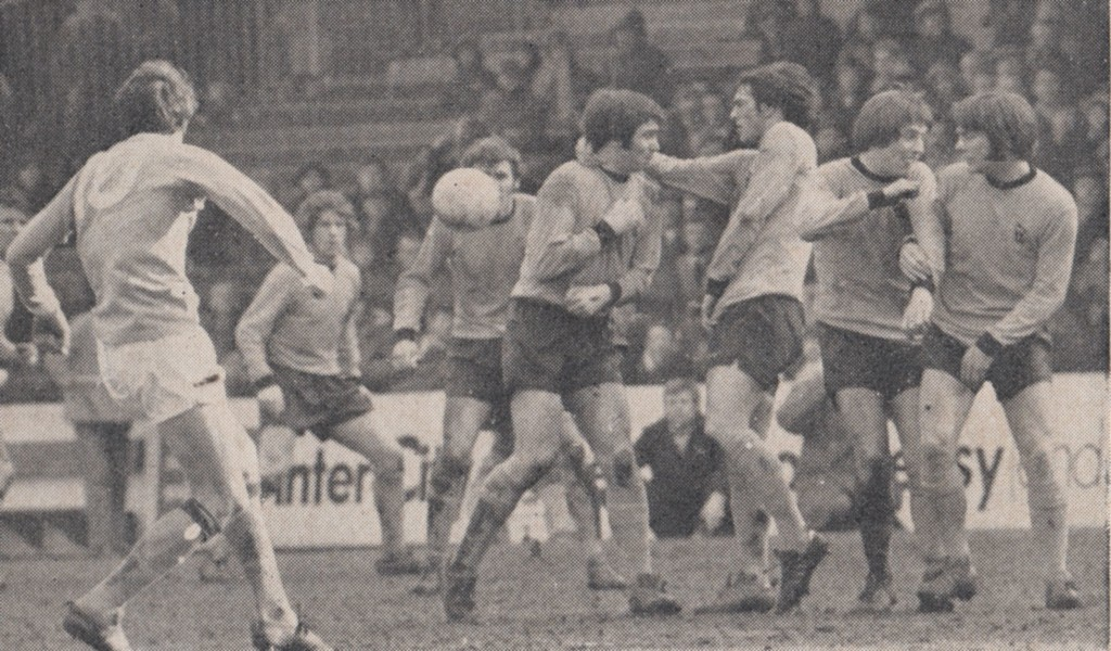 wolves home 1970 to 71 action 8