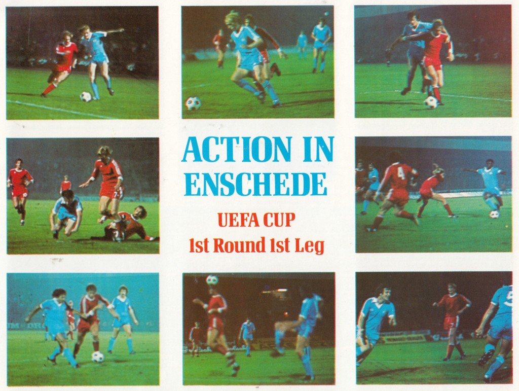 FC Twente away1978 to 79 action montage