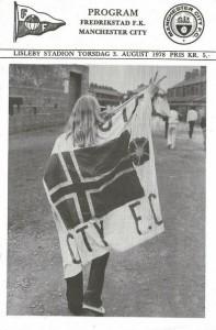 FREDRIKSTAD FK 1978 to 79 prog