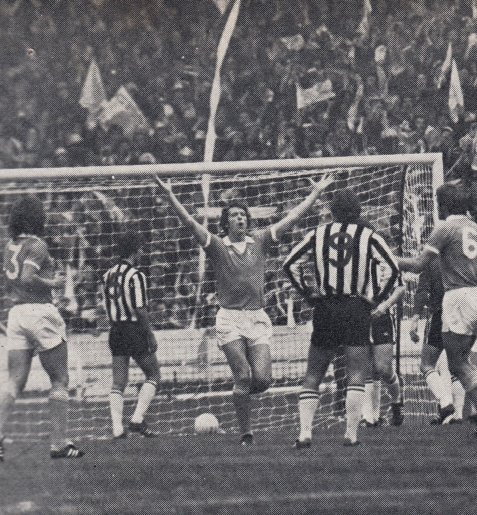 NEWCASTLE LGE CUP final 1976 barnes goal 6