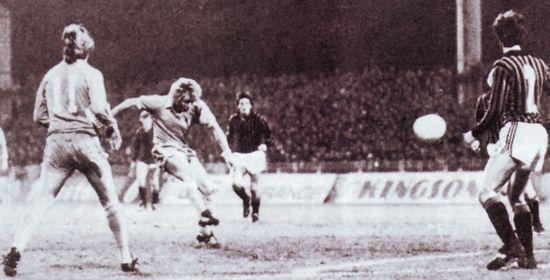 AC Milan home 1978 to 79 hartford city goal 2