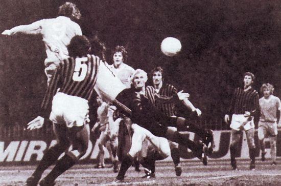 AC Milan home 1978 to 79 kidd city goal 3