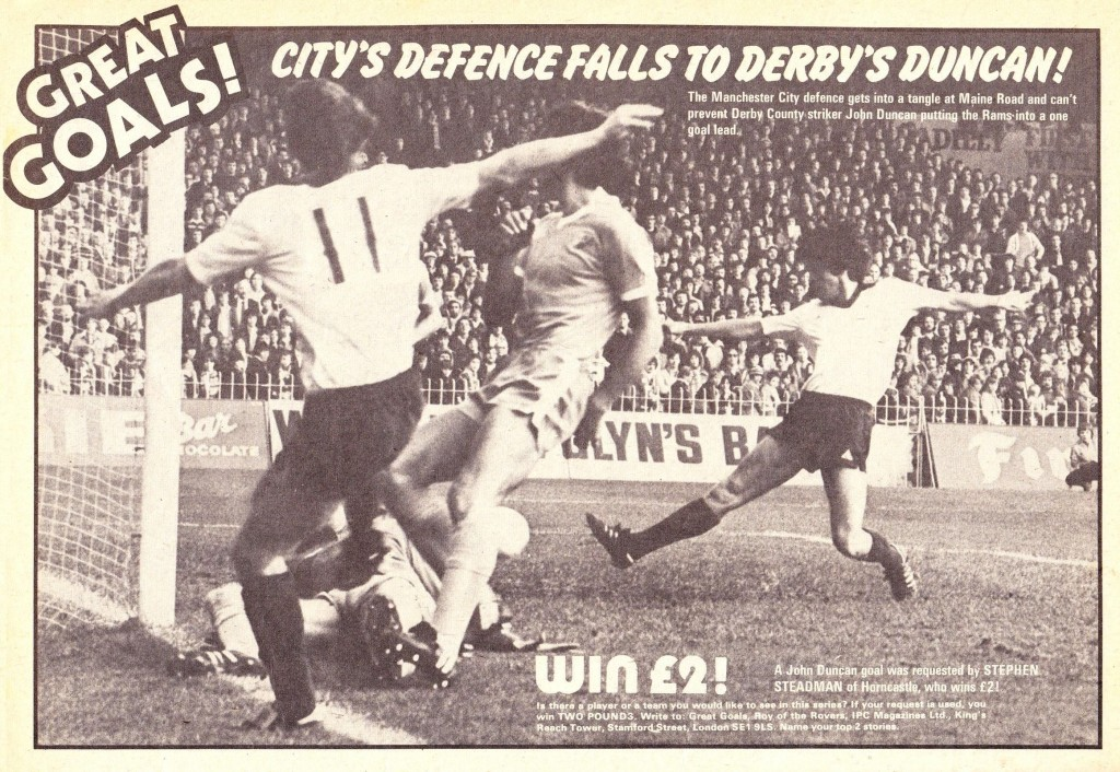 derby home 1978 to 79 duncan goal 1-0 derby
