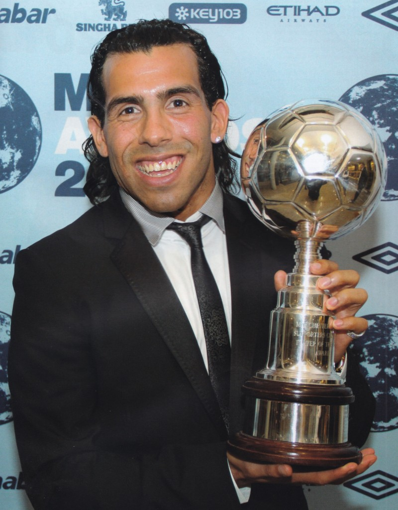 2009 to 10 tevez city player of the year