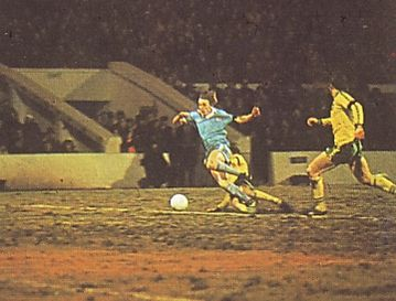 norwich home 1978 to 79 barnes penalty foul