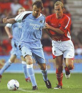 Wrexham away friendly 2006 to 07 action2