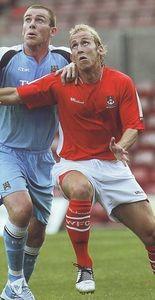 Wrexham away friendly 2006 to 07 action4