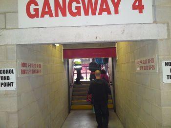 barnsley 2009 to 10 gangway